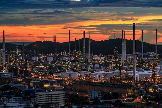 Oil refiery plant, and chemical plant in thailand