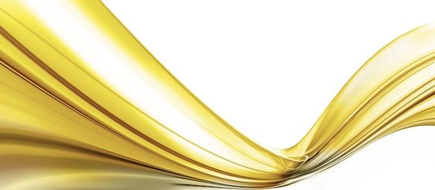 明るい背景の上の油の波