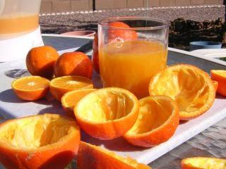 Свежевыжатый апельсиновый сок, ojfreshpickedo
