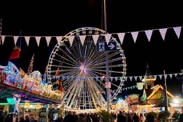 Oktoberfest fair germany