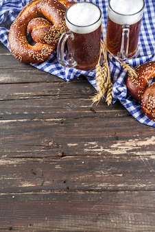 Oktoberfest festive background