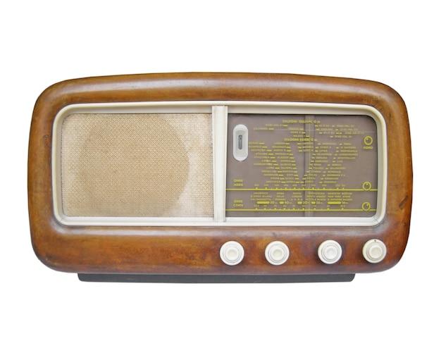 古いamラジオチューナー