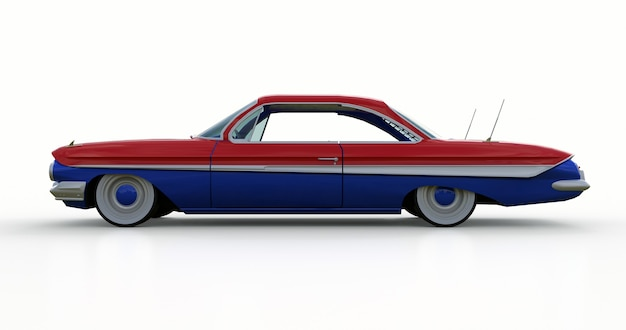 우수한 상태의 오래된 미국 자동차