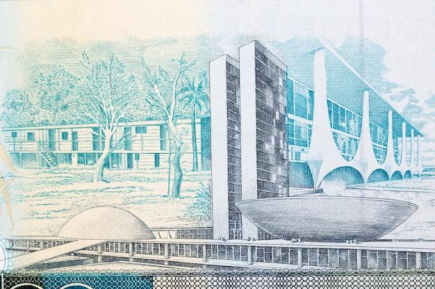 브라질 돈 cruzados의 오래되고 현대적인 건물