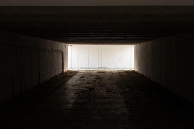 古くて怖い地下道