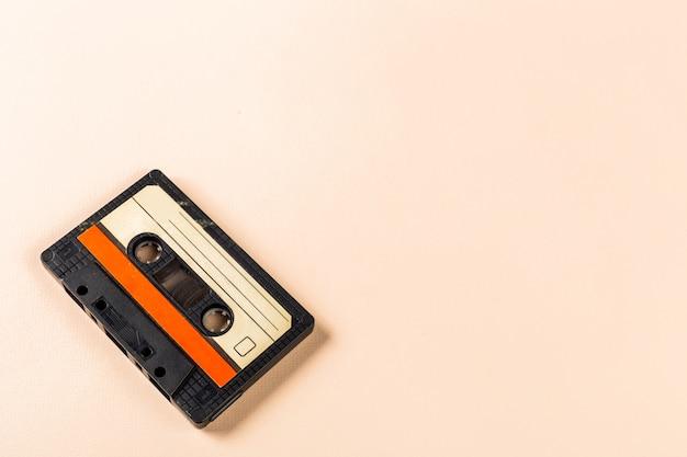 Old audio cassette tape