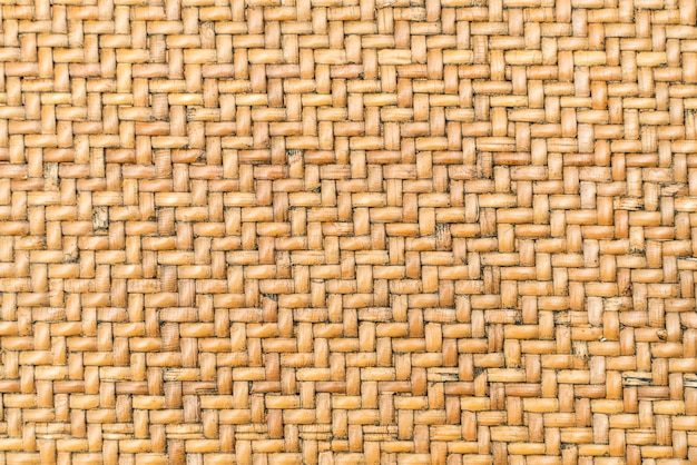 Old bamboo wood weaved basket texture