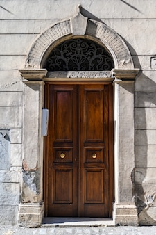 Old and beautiful ornate door