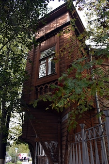 Old beautiful wooden house