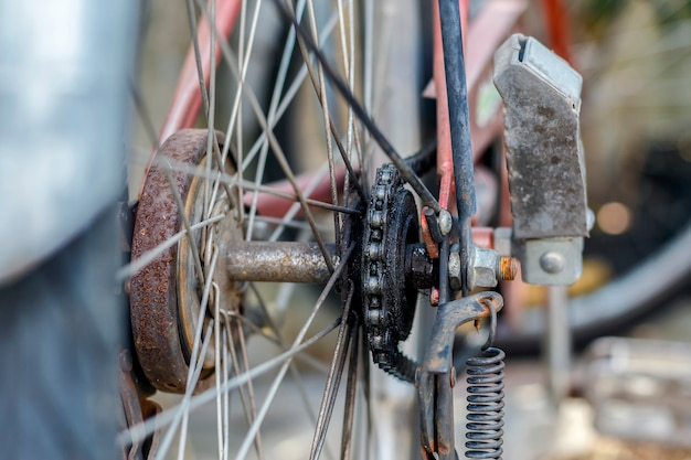 古い自転車チェーン Premium写真