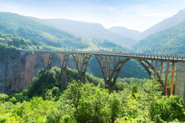 Старый большой мост и вид на реку