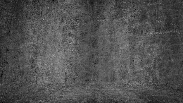 Old black background grunge texture dark blackboard chalkboard concrete