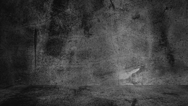 古い黒の背景。グランジテクスチャダーク黒板黒板コンクリート。