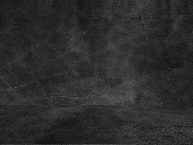 Old black background. grunge texture. dark wallpaper. blackboard chalkboard concrete.