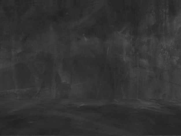 古い黒の背景。グランジテクスチャ。暗い壁紙。黒板。黒板。コンクリート。