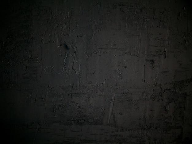 Старый черный бетонный фон