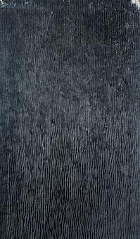 古い黒の空の革または紙の質感。