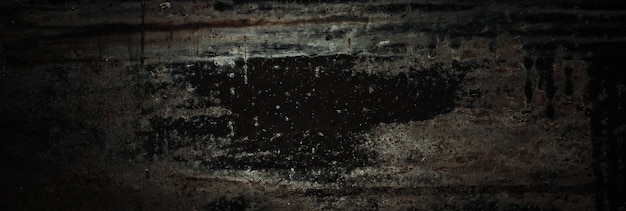 Старая черная ржавая грубая потрепанная металлическая текстура.