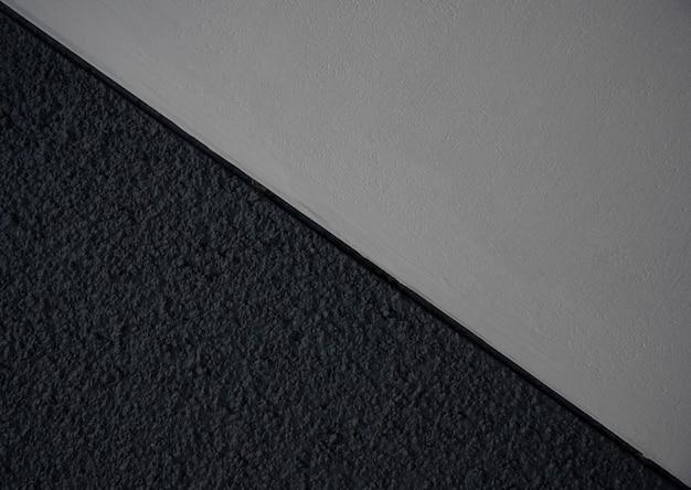 古い黒い壁の縞模様の背景