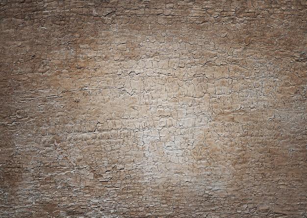 Старый пустой, текстурированный коричневый деревянный фон доски