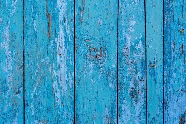 초라한 페인트-배경과 텍스처와 오래 된 블루 보드