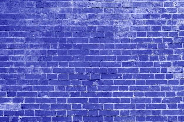 Old blue brick wall texture wallpaper