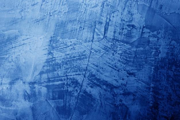 古い青いコンクリート