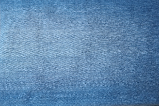 Old blue jeans texture or background