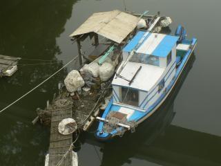 Old boat, japan