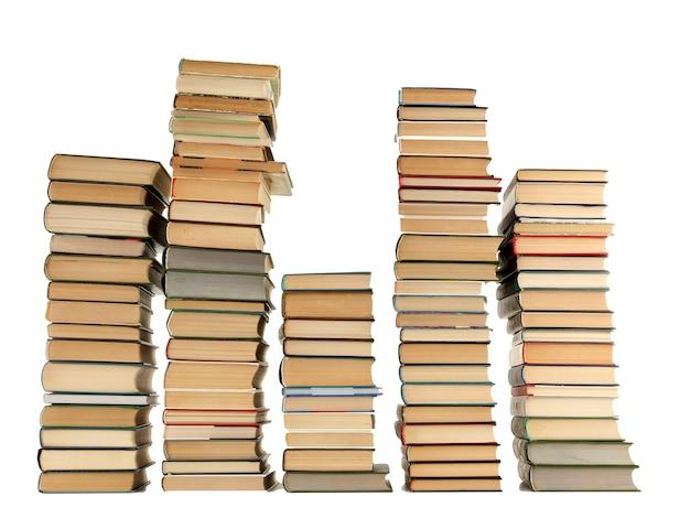화이트에 오래 된 책