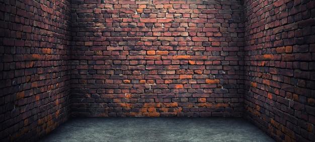 오래된 벽돌 방
