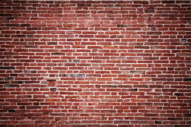 오래 된 벽돌 벽 배경