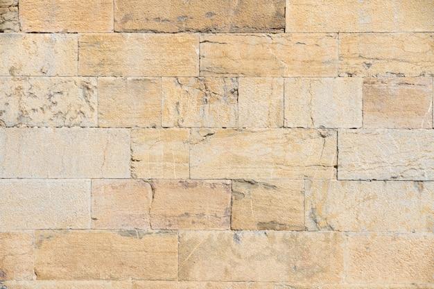 Vecchio muro di mattoni in coltura
