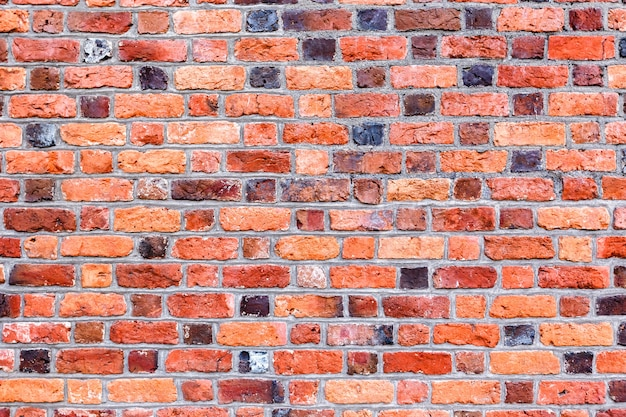 Old brick wall pattern for background