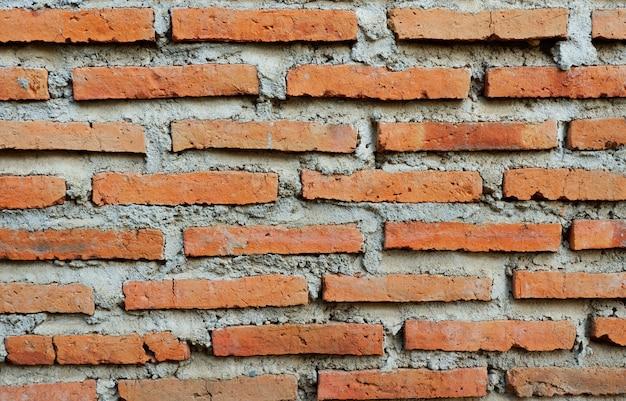 오래 된 벽돌 벽 질감 배경