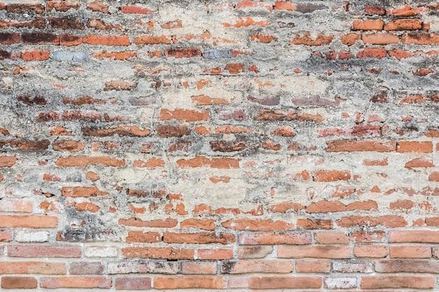 오래 된 벽돌 벽 질감 배경입니다.