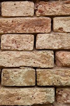 오래 된 벽돌 벽 텍스처