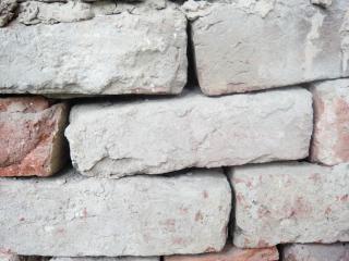 Old bricks, unique