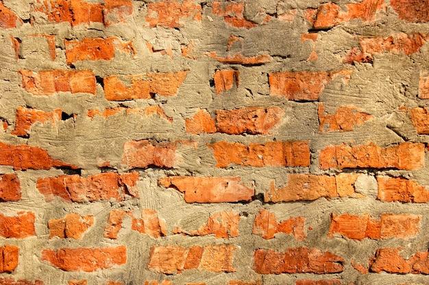 古いレンガの壁のテクスチャ