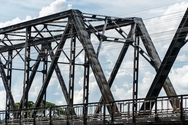 川に架かる古い橋