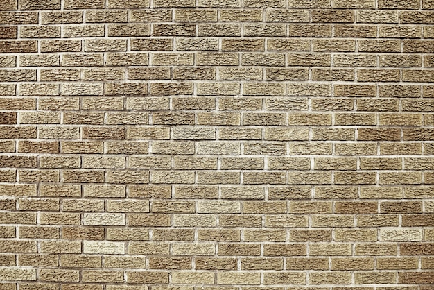 Old brown brick wall background texture