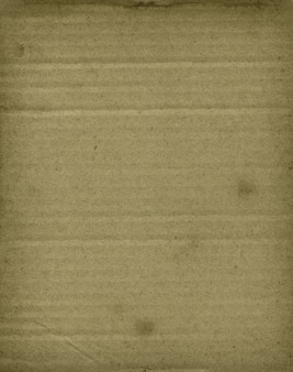 Old brown corrugated cardboard texture surface wallpaper