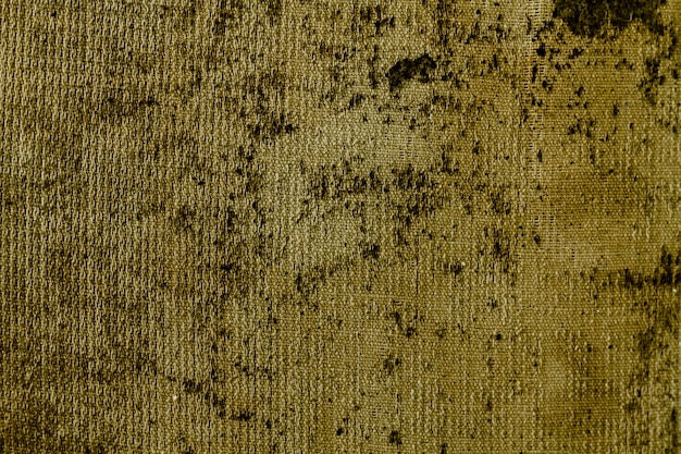 Old brown fabric material with copy space