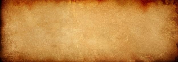 빈티지 반점이 있는 오래된 갈색 종이 배경, 우아한 골동품 베이지색