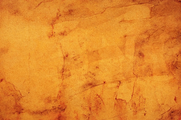 Old brown paper grunge for background. abstract liquid coffee color texture.