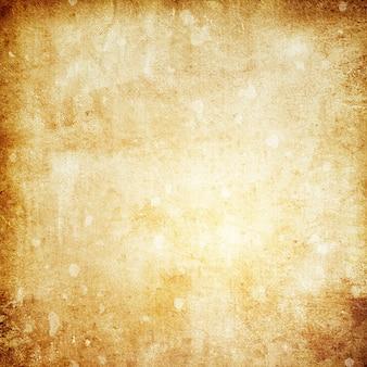 공간 사본과 텍스트를 위한 장소가 있는 오래된 갈색 종이 그루지 배경