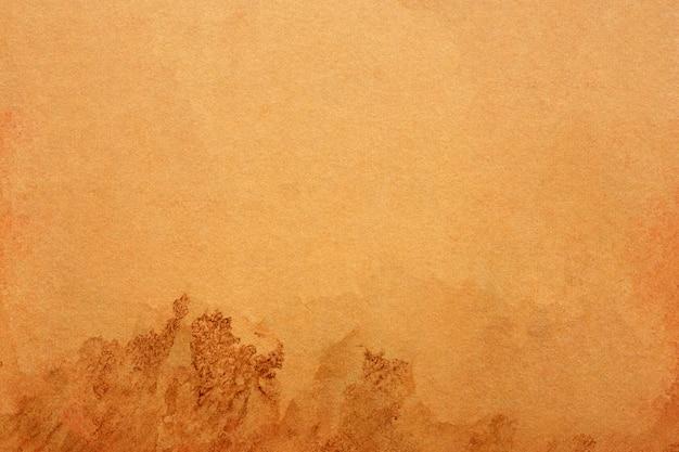背景の古い茶色の紙グランジ。抽象的な液体コーヒーの色のテクスチャー。