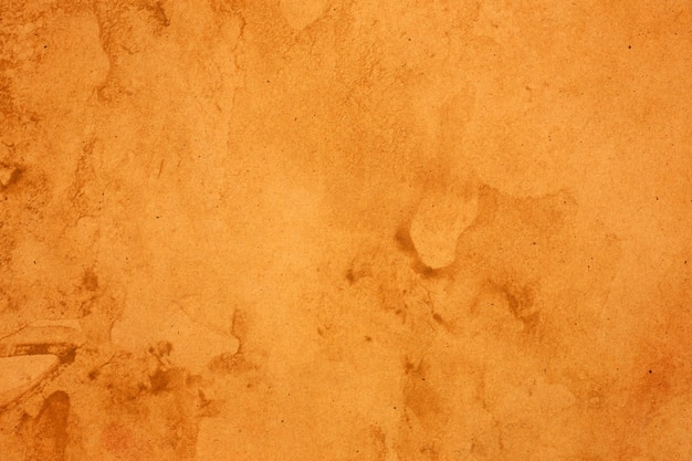 오래 된 갈색 종이 그런 지 표면