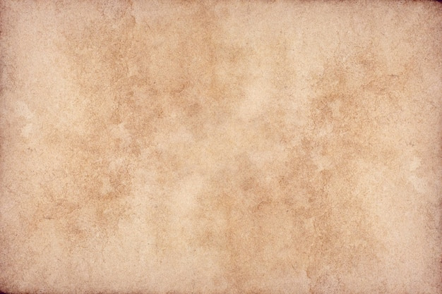 Old brown paper grunge surface. abstract liquid coffee color texture.