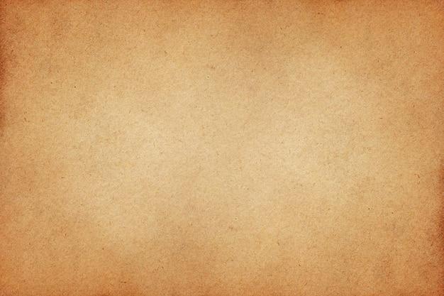Старая поверхность гранж коричневой бумаги. Premium Фотографии